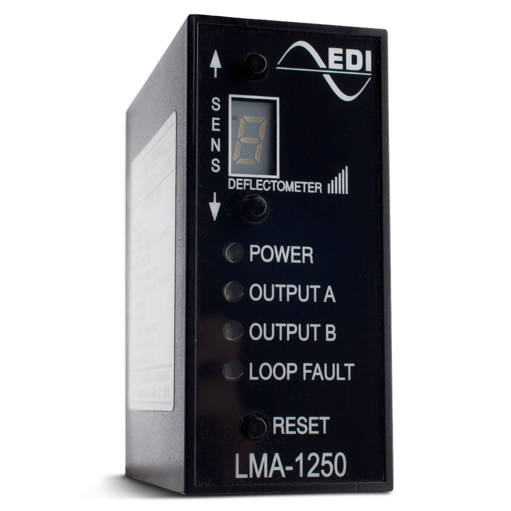 EDI LMA-1250 Inductive Loop Vehicle Detector with Dual Relay Outputs