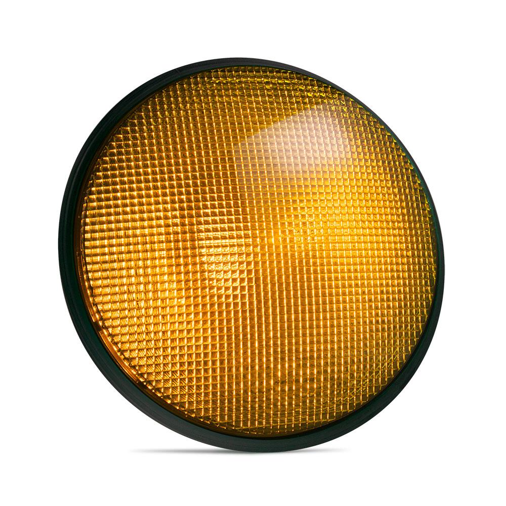 Dialight Built In Led Traffic Light Orange Traffic Inc