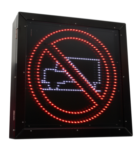 LED Blank Out Sign