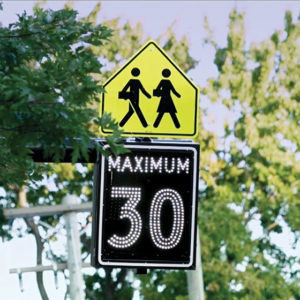 Connected School Zones System