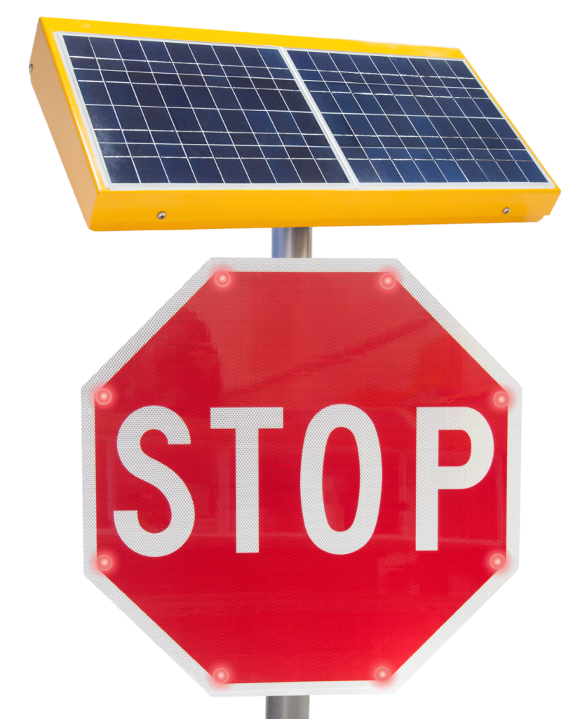 FL-5801 LED-Embedded Stop Sign