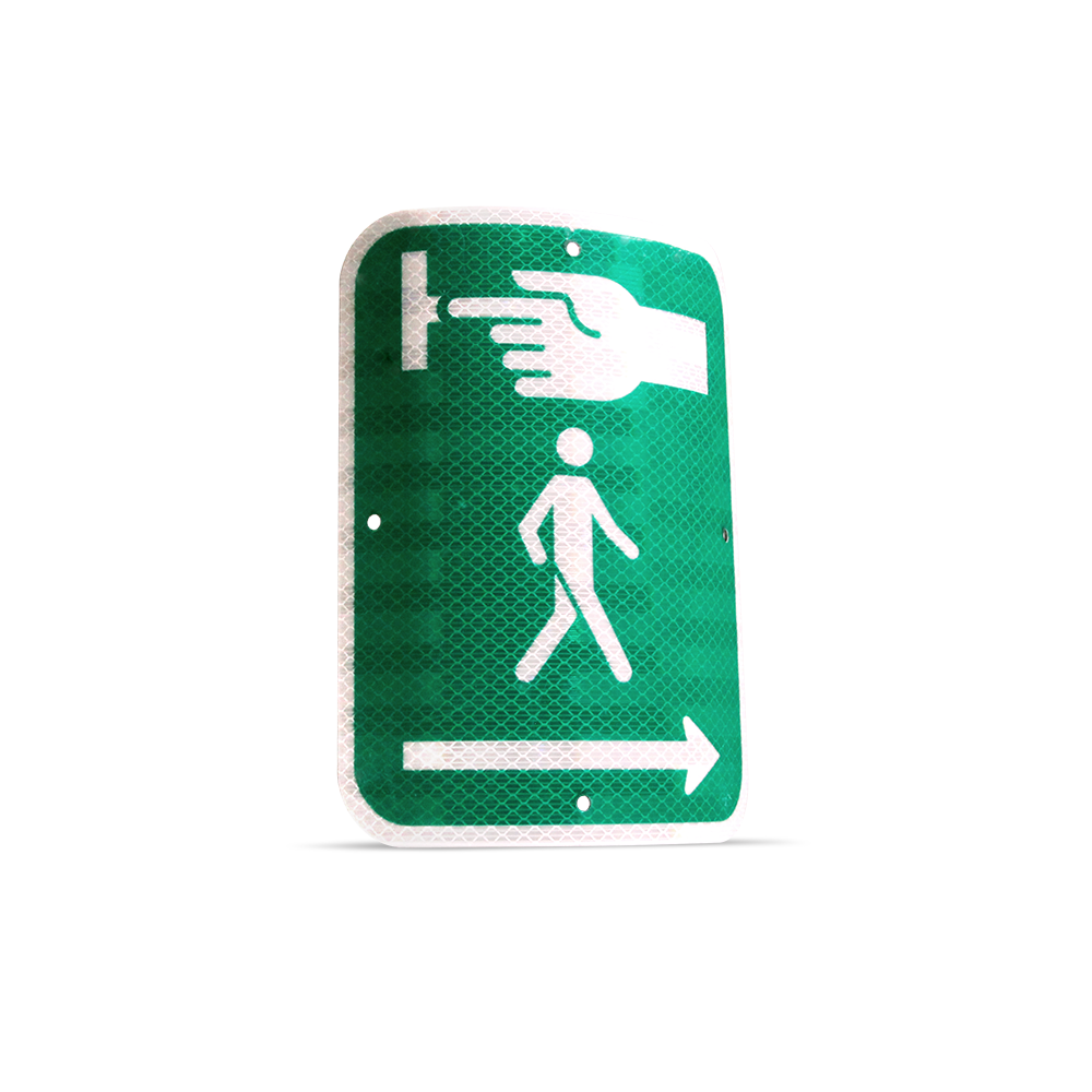 Pedestrian button visual indicator