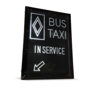 Reserved Bus/Taxi Lane Sign – LS3648-P250-BUS