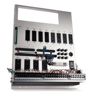 Controller and Traffic Light Cabinet 16 load switch (LS)