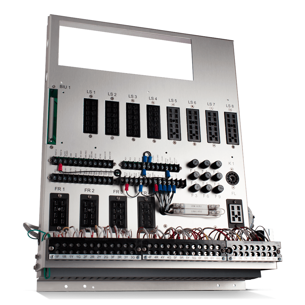 8- or 16-Relay Back Panel